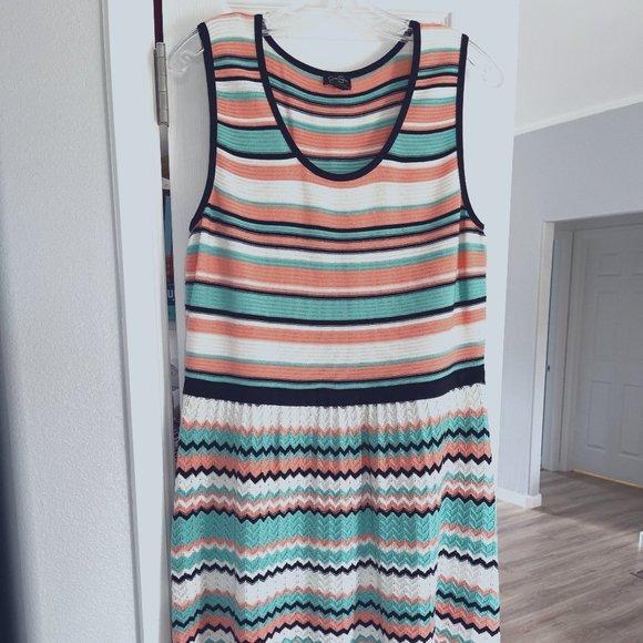 "Jessica Simpson ""Florance"" knit dress - size 1X"
